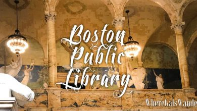 WhereGalsWander Boston Public Library, WhereGalsWander.com Boston (1)