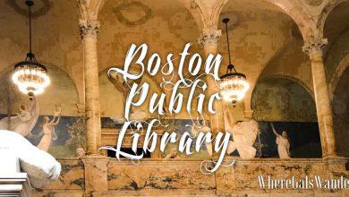 WhereGalsWander Boston Public Library, WhereGalsWander.com Boston (1)