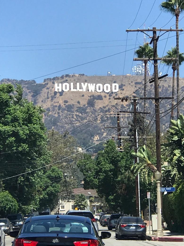 WhereGalsWander Hollywood Sign