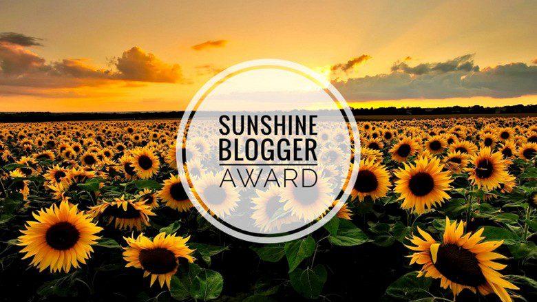 Sunshine Blogger Award WhereGalsWander