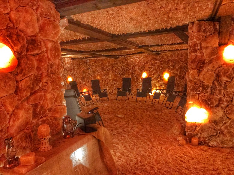 Underground Salt Cave & Spa, Santa Barbara, California Travels, WhereGalsWander.com