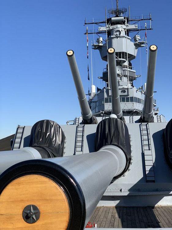 Adventures Aboard the USS Iowa Historic Battleship