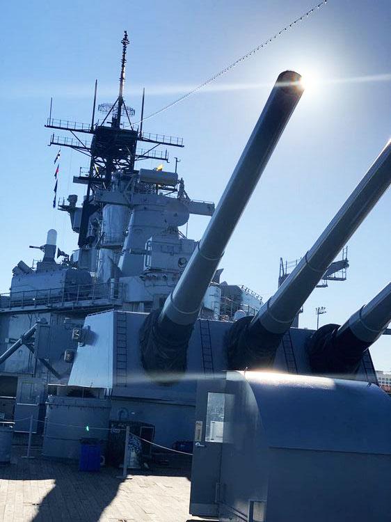 The USS Iowa Battleship WhereGalsWander