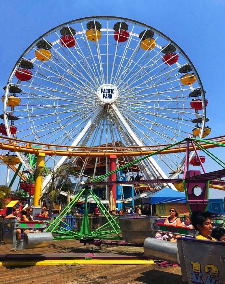Pacific Park, Santa Monica Pier Ferris Wheel WhereGalsWander