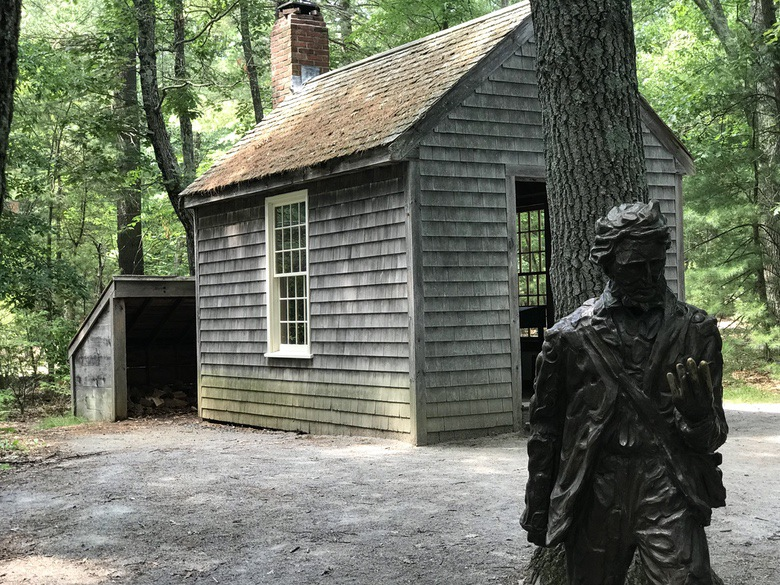 Henry David Thoreau's cabin at Walden Pond WhereGalsWander