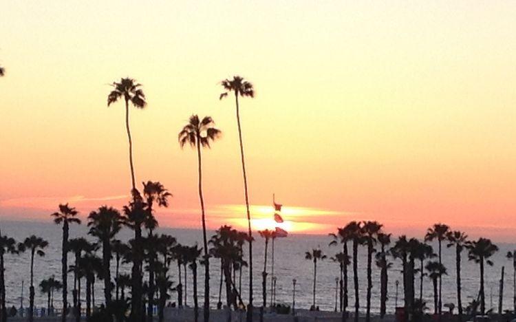 WhereGalsWander Oceanside California Sunset