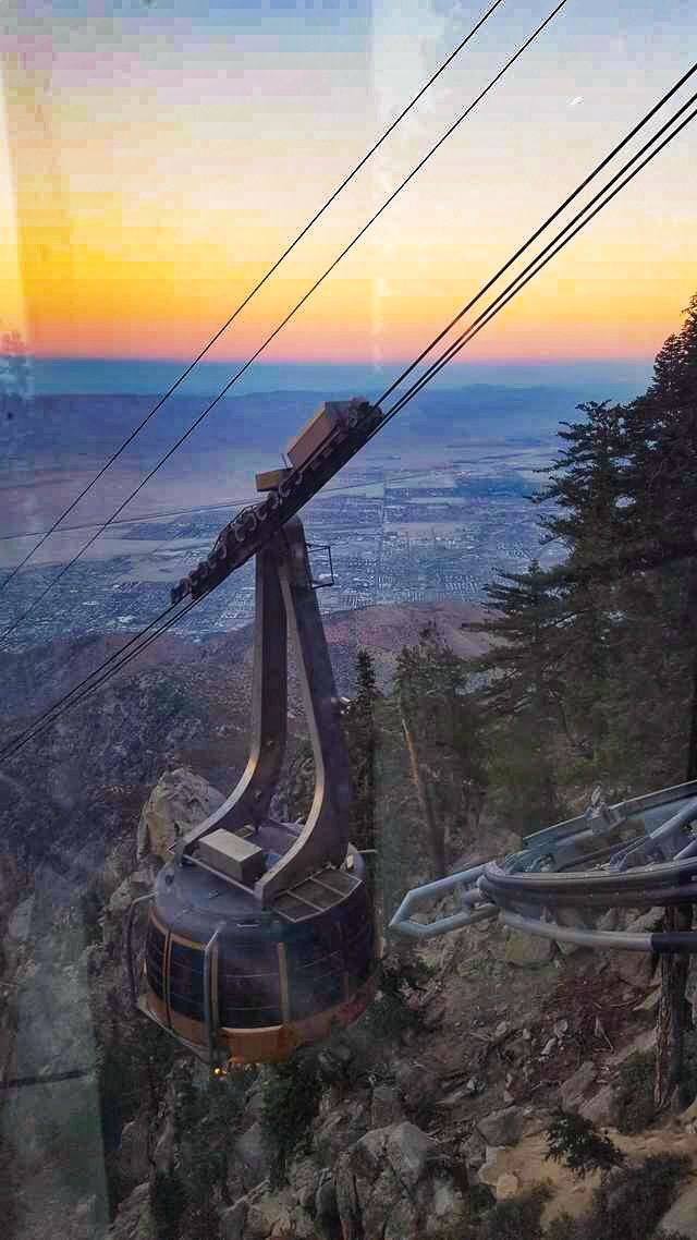 San Jacinto Mountain, sunset photo by JD