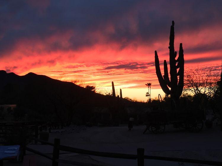 Carefree, Arizona WhereGalsWander Sunset