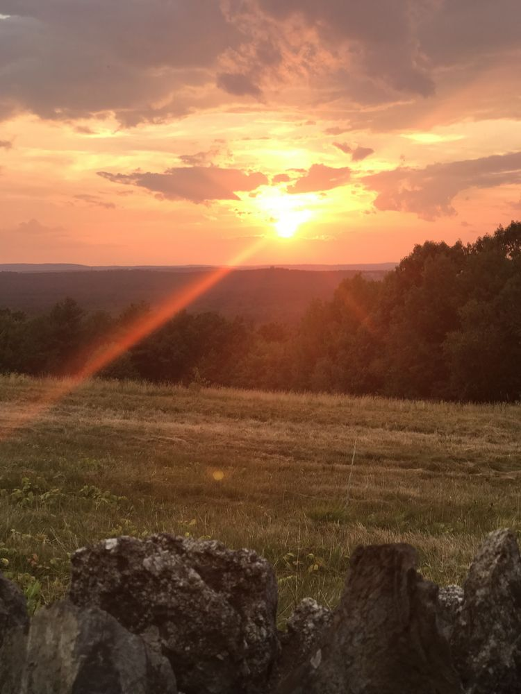 Fruitland, Massachusetts Sunset WhereGalsWander