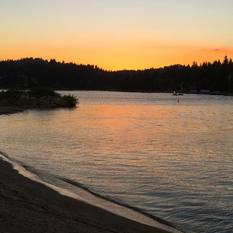 Lake Arrowhead, California Big Bear WhereGalsWander sunset