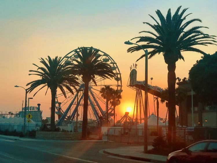 Ventura County Fair sunset WhereGalsWander