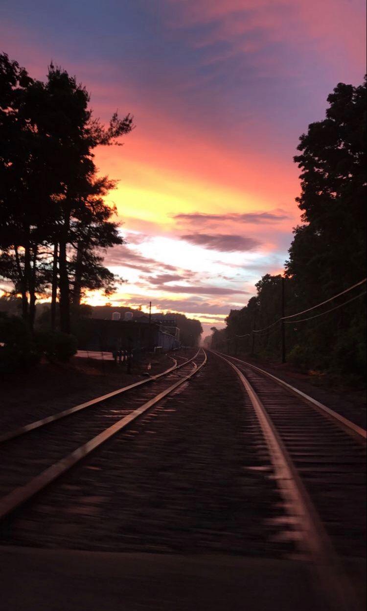 Massachusetts Sunset near Concord