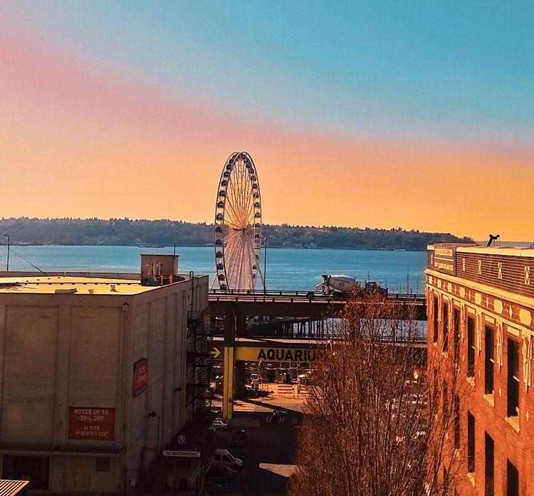 Seattle Washington Sunset, WhereGalsWander