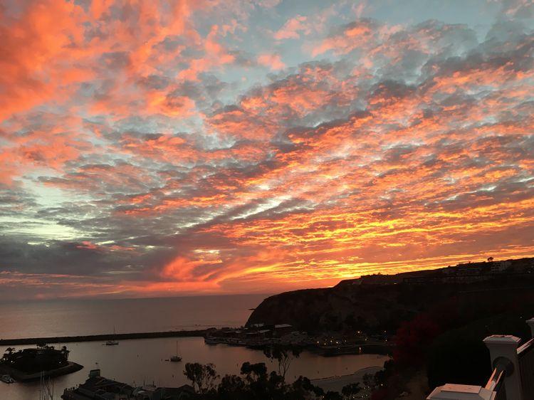 Dana Point, Laguna Beach, California sunset WhereGalsWander
