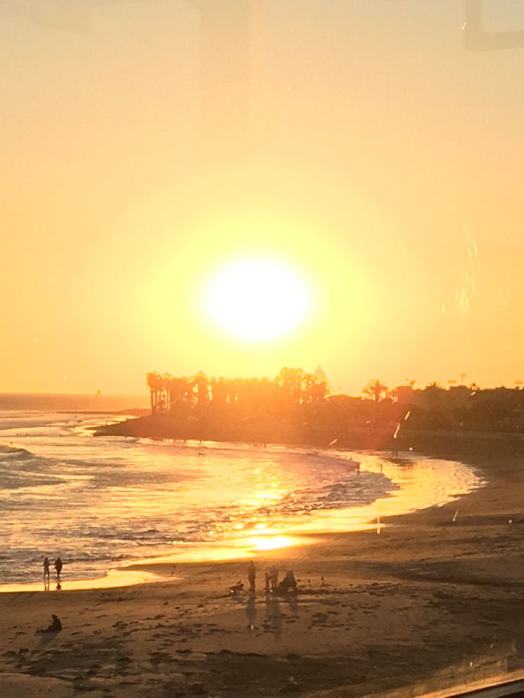 Ventura Beach Sunset, WhereGalsWander