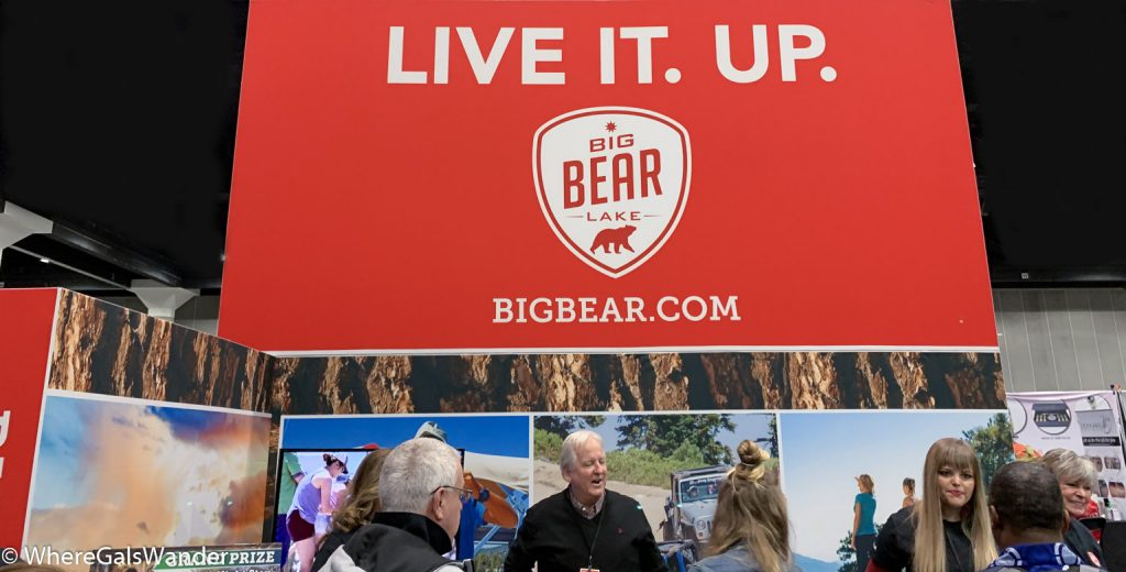 Big Bear Tips from WhereGalsWander, attending the Travel & Adventure Show