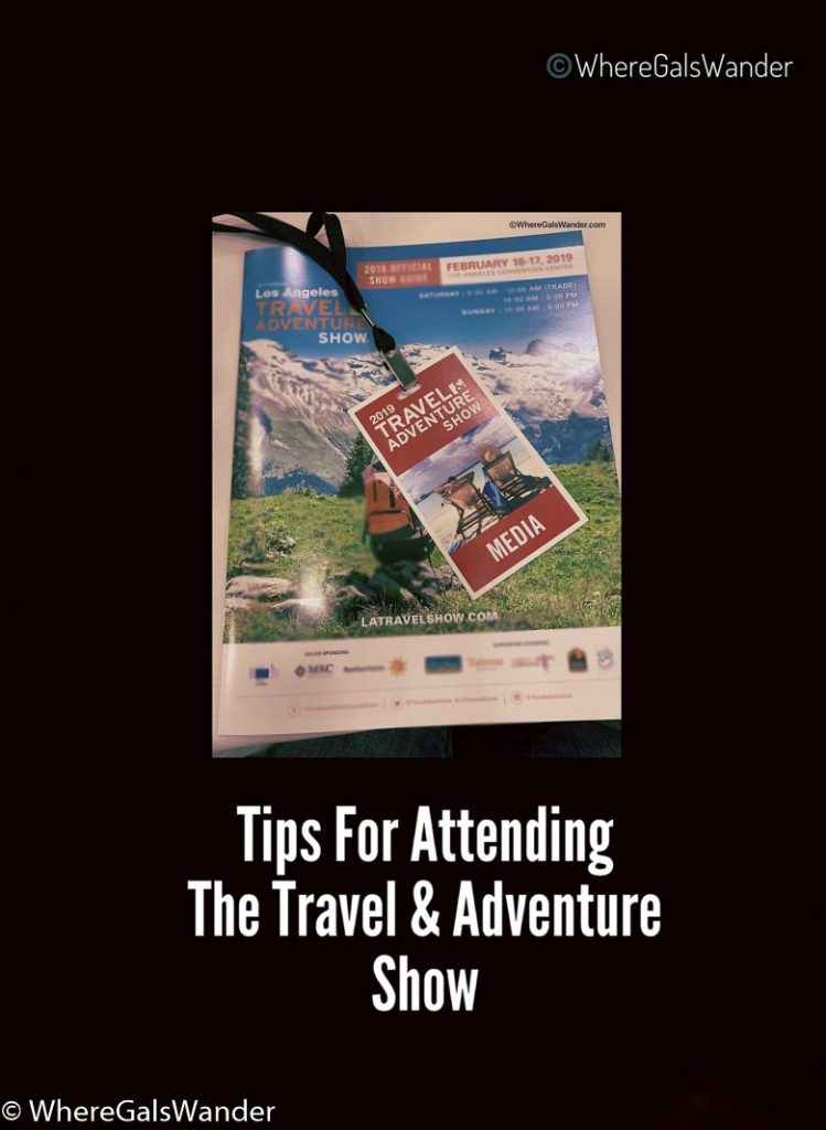 Tips on Attending The Travel and Adventure Show WhereGalsWander