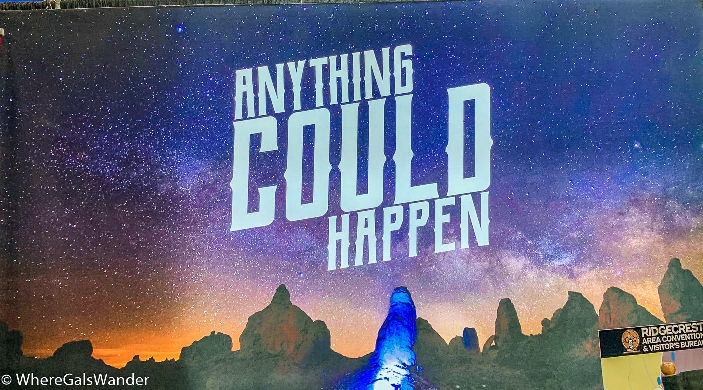 Ridgecrest Tips from WhereGalsWander, attending the Travel & Adventure Show