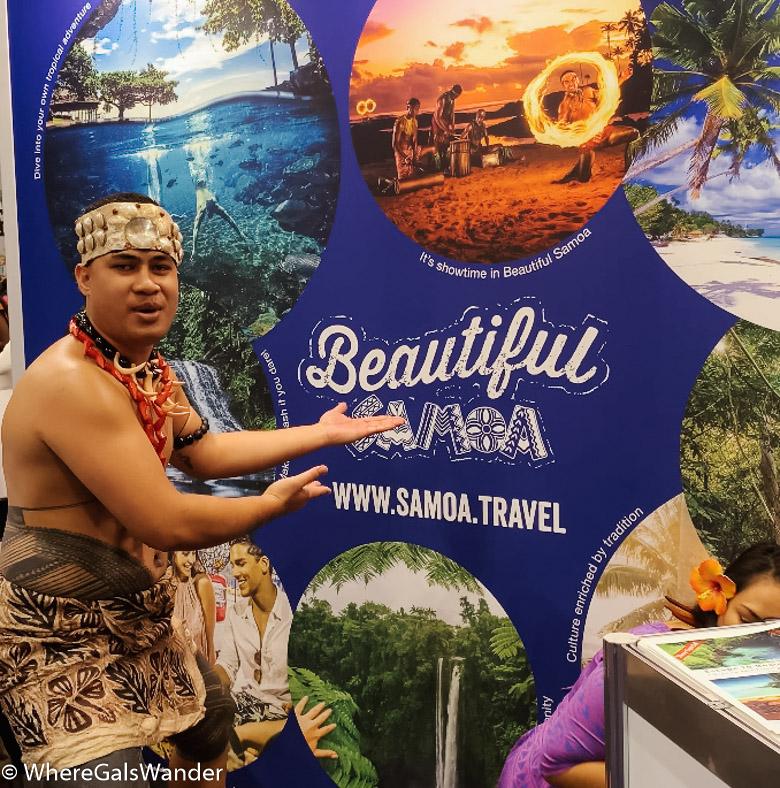 Samoa WhereGalsWander Travel Adventure Show