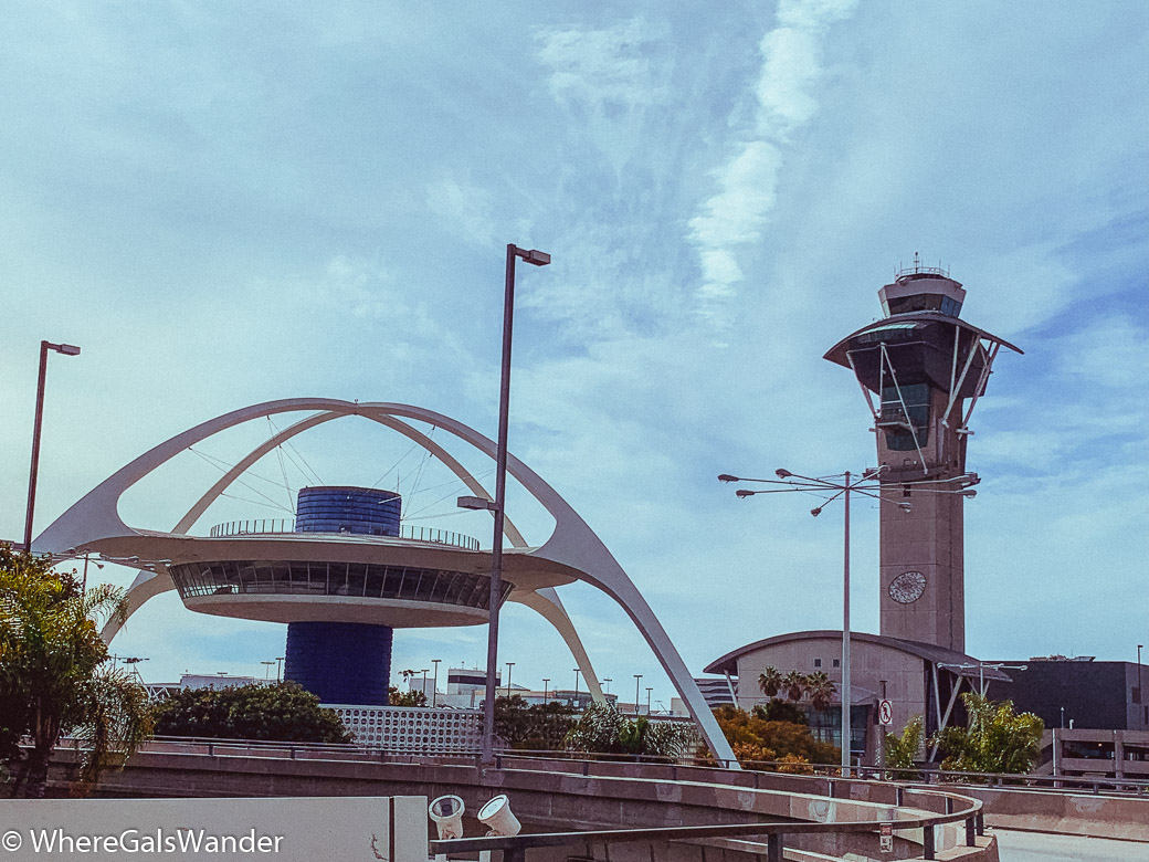 Travel Tips for LAX and other Los Angeles Airports, plus advice on traveling through LA-WhereGalsWander