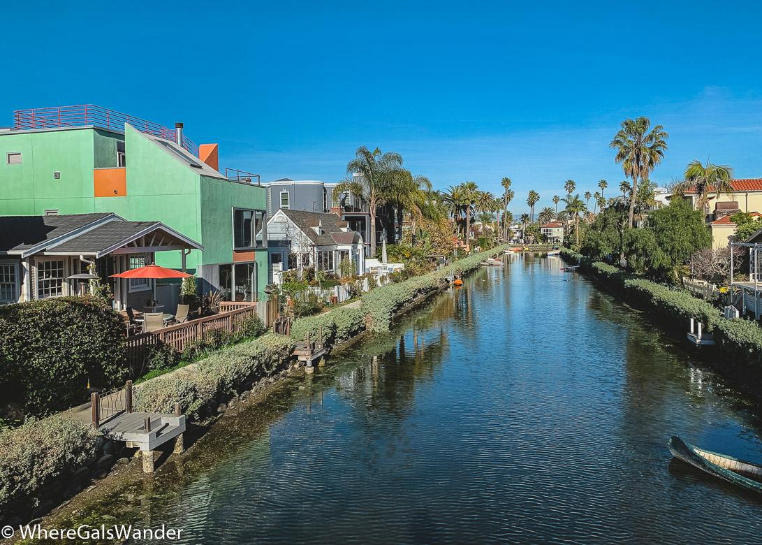 WhereGalsWander Venice Canal California Design Architecture