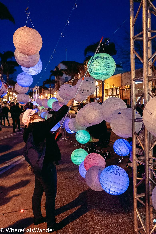 WhereGalsWander Ventura Lantern Festival