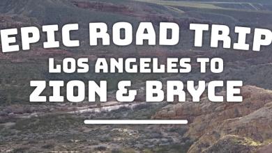 WhereGalsWander Road Trip LA to Zion 2019