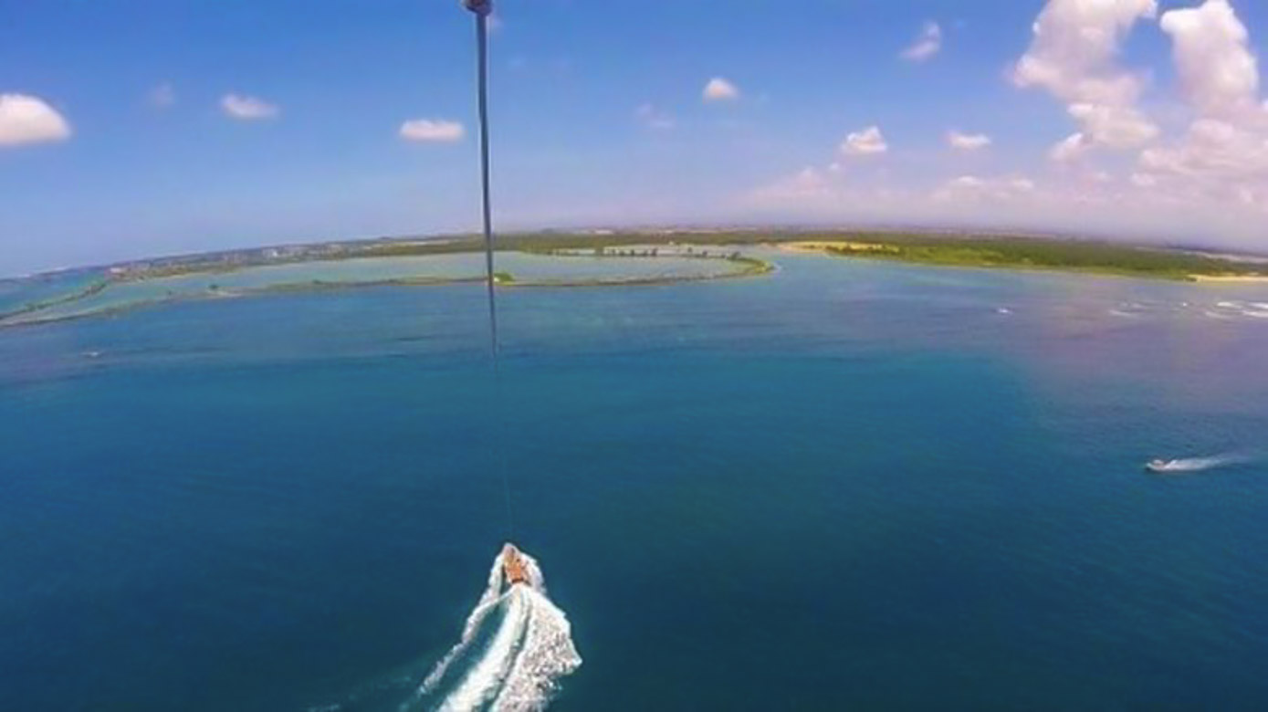 Parasailing In Nusa Dua, Bali, ALifestyleProject for WhereGalsWander.com