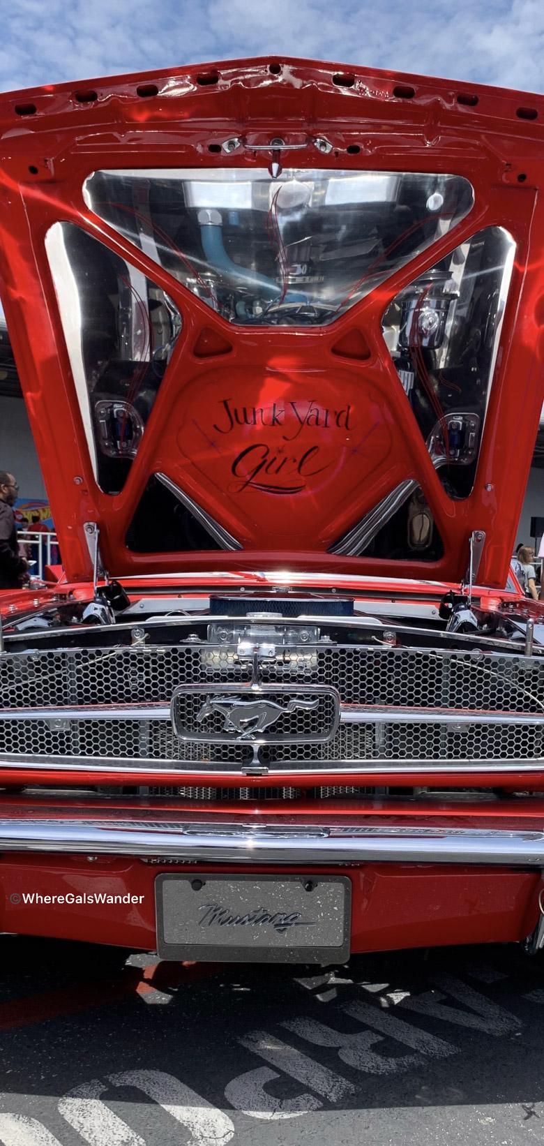 Mustang WhereGalsWander cars Hot Wheels