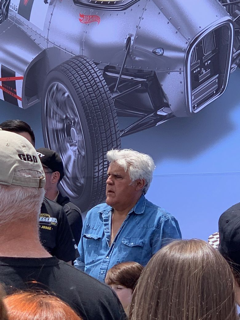 Jay Leno cars Hot Wheels