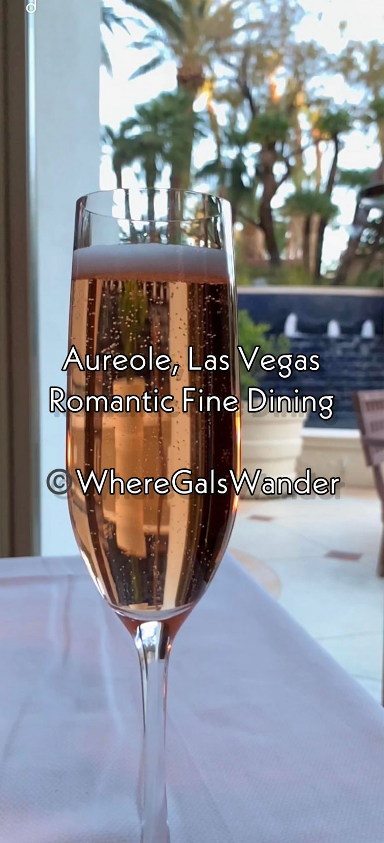 WhereGalsWander.com Aureole Fine Dining in Las Vegas