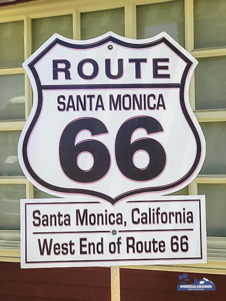 Santa Monica Pier, End of Route 66