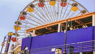 Visiting Santa Monica Pier (21)