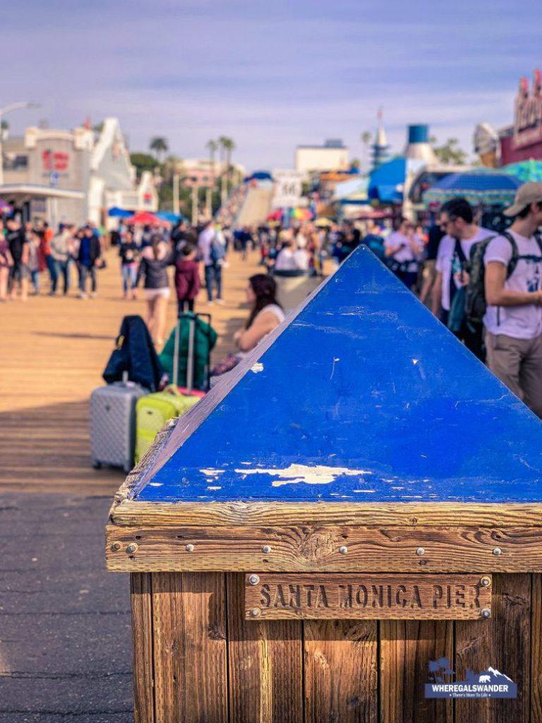 Visiting Santa Monica Pier (3)