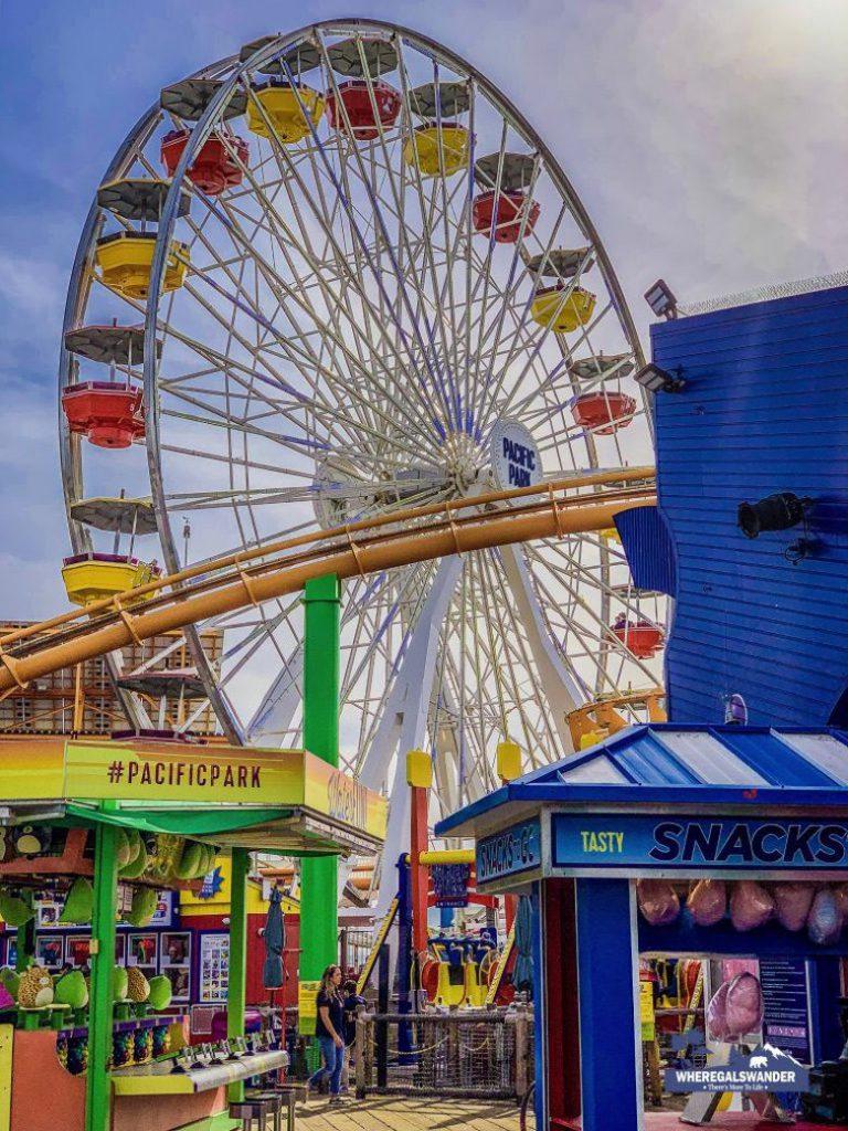 Visiting Santa Monica Pier (5)