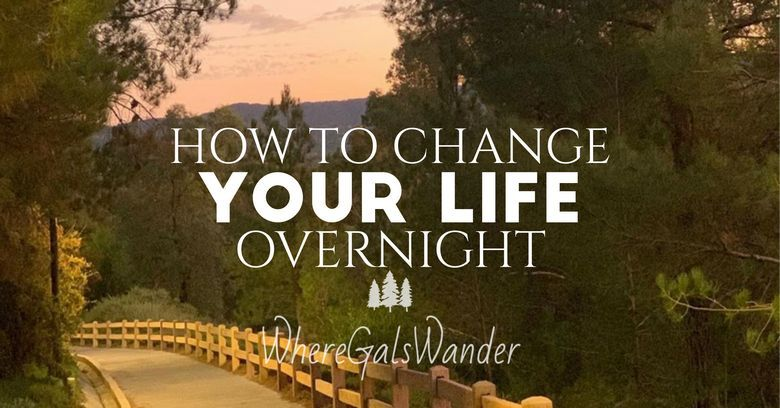 Title How To Change Your Life Overnight