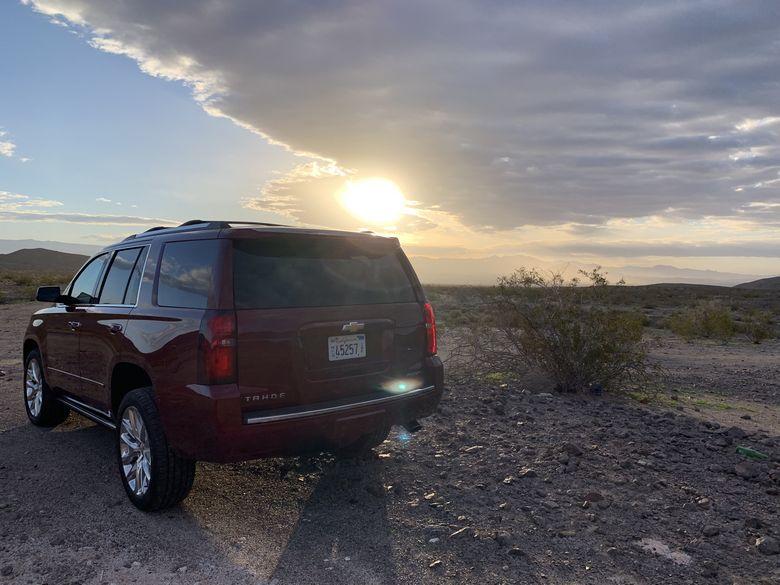 Road trip to Zion, Mojave Desert