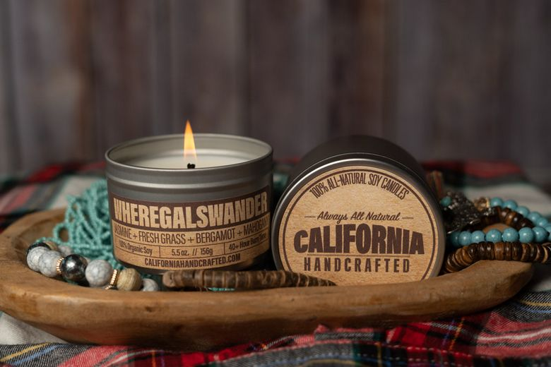 California Handcrafted Candles WhereGalsWander
