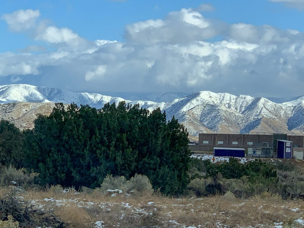 Los Angeles Winter Mountains in  Acton, California