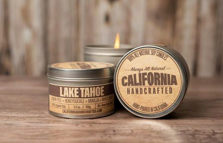 California Handcrafted Soy Candles