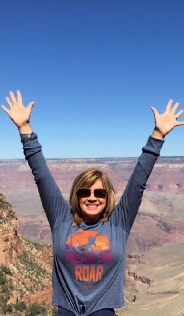 JD at the Grand Canyon
