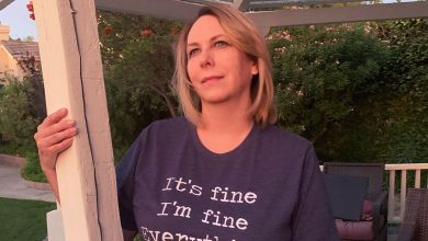 Its Fine Everything is fine T shirt
