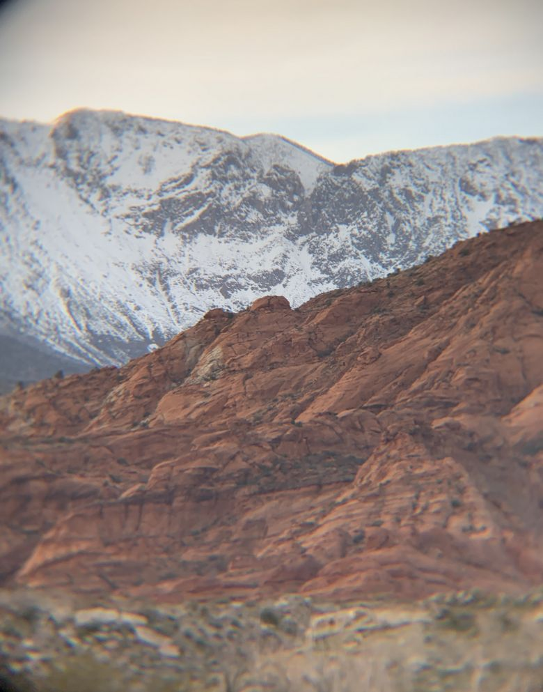 Sunset at Red Cliffs Recreation Area, Utah