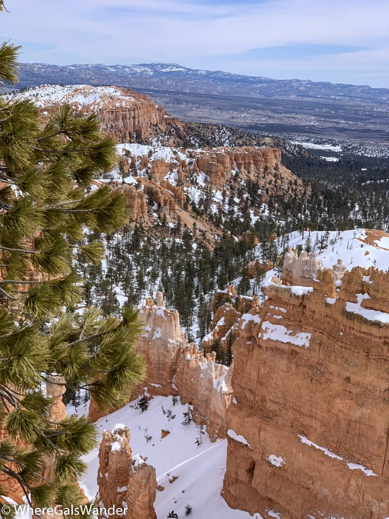 One of the magnificent views from Bryce National Park