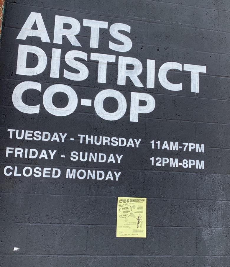 Covid in LA Arts District
