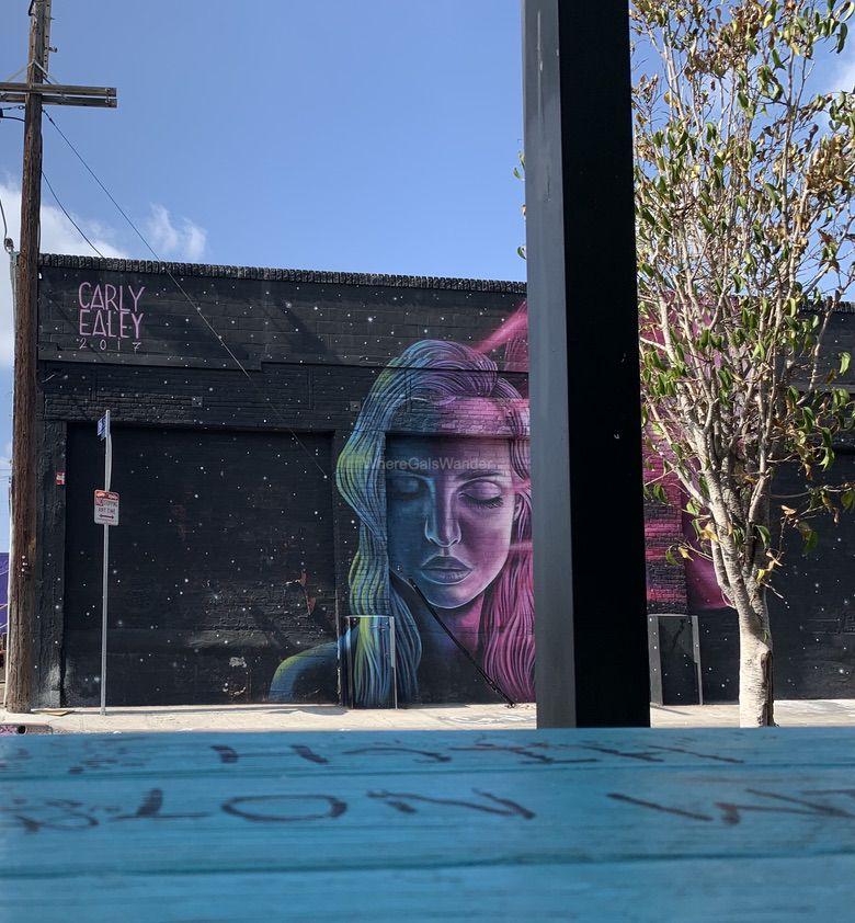 LA Arts District WhereGalsWander.com
