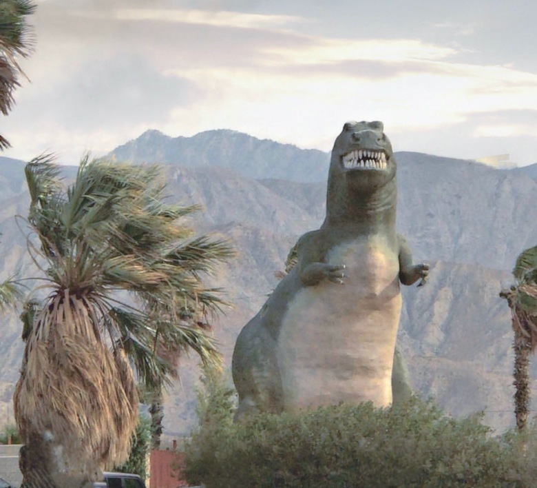 Road Trip Attractions: Cabazon Dinosaurs