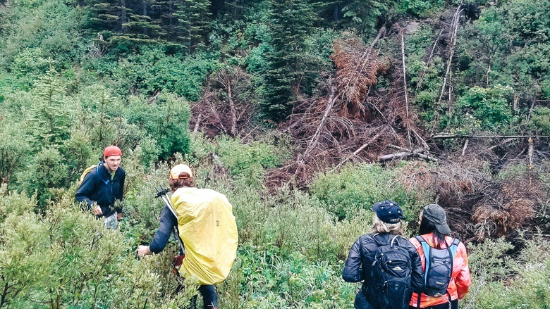 Two Honeys Hiking Lone Mountain